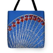 The Ferris Wheel Chicago Tote Bag