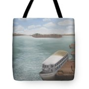 The Ferryman's Break Tote Bag