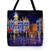 The Festival Of Lights In Lyon France Tote Bag