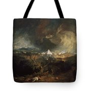 The Fifth Plague Of Egypt Tote Bag
