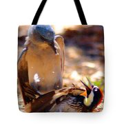 The Fight Tote Bag