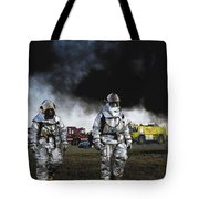 The Fight Is Over Tote Bag
