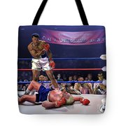 The Fight Of The Century - June 28 1971 C-vs-us Tote Bag