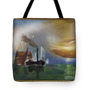 The Fighting Temeraire 1837 Tote Bag