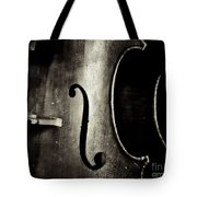 The Figure Of A Cello Tote Bag