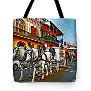 The Final Ride Painted Tote Bag