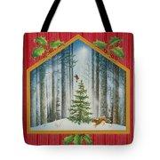 The Fir Tree Tote Bag