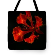 The Fire Flower Tote Bag