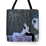 The Fire Tote Bag by Georges Barbier