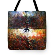 The Fire Of Forest-the Fire Of Heart Tote Bag