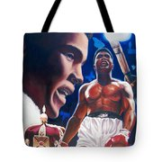 The Fire The Sting The King  Tote Bag