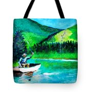 The First Cast Tote Bag
