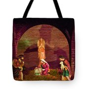 The First Christmas - Greeting Card Tote Bag
