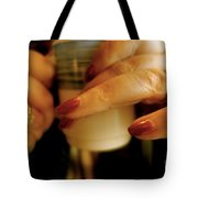The First Cup Tote Bag