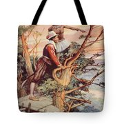 The First Englishman To See The Pacific Tote Bag