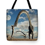The First Man, Adam, Greeting Tote Bag