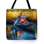 The First Mate Tote Bag by Lenore Gaudet