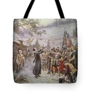 The First Sermon Ashore Tote Bag