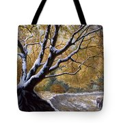 The First Snow Idaho Tote Bag