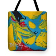 The Fish And The Bird Tote Bag