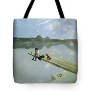 The Fisherman, 1884 Tote Bag