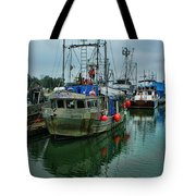 The Fishing Boat Genesta Hdrbt4240-13 Tote Bag