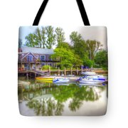 The Fishing Village Tote Bag