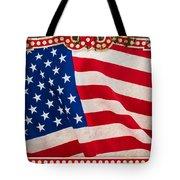 The Flag Tote Bag by Martin Bergsma