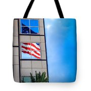 The Flag That Never Hides Tote Bag