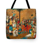 The Flight Out Of Egypt Tote Bag