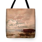 The Flood In The Darling 1890 Tote Bag
