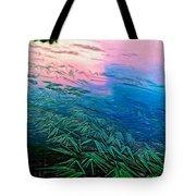 The Flow - Paint Tote Bag