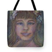 The Flower Girl Tote Bag