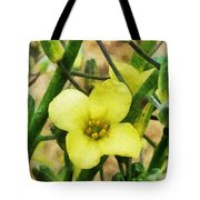 The Flower Of The Broccoli  Tote Bag
