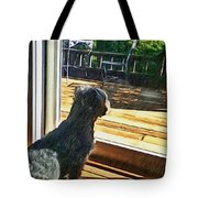 The Fluffy Watcher Tote Bag