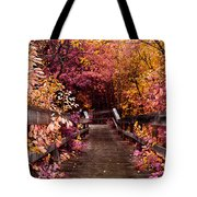 The Followed Rabbit  Tote Bag