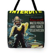 The Forbidden Planet Vintage Movie Poster Tote Bag