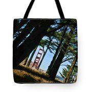The Forest Of The Golden Gate Tote Bag