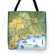 The Forgotten Coast St. Marks Tote Bag