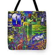 The Forgotten Print Tote Bag