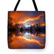 The Forgotten Sunset Tote Bag