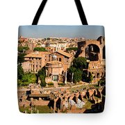 The Forum From The Palatine Tote Bag