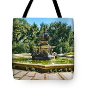 The Fountain - Iconic Fountain At The Huntington Library. Tote Bag