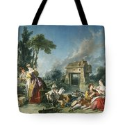 The Fountain Of Love Tote Bag