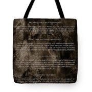 The Four Agreements Tote Bag