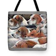 Fox Play Tote Bag