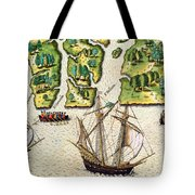 The French Discvoer Six More Rivers Tote Bag