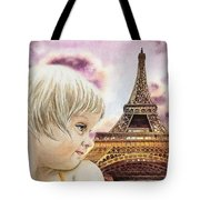The French Girl Tote Bag