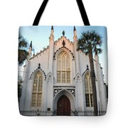 Charleston French Huguenot Church Tote Bag