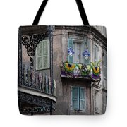 The French Quarter During Mardi Gras Tote Bag